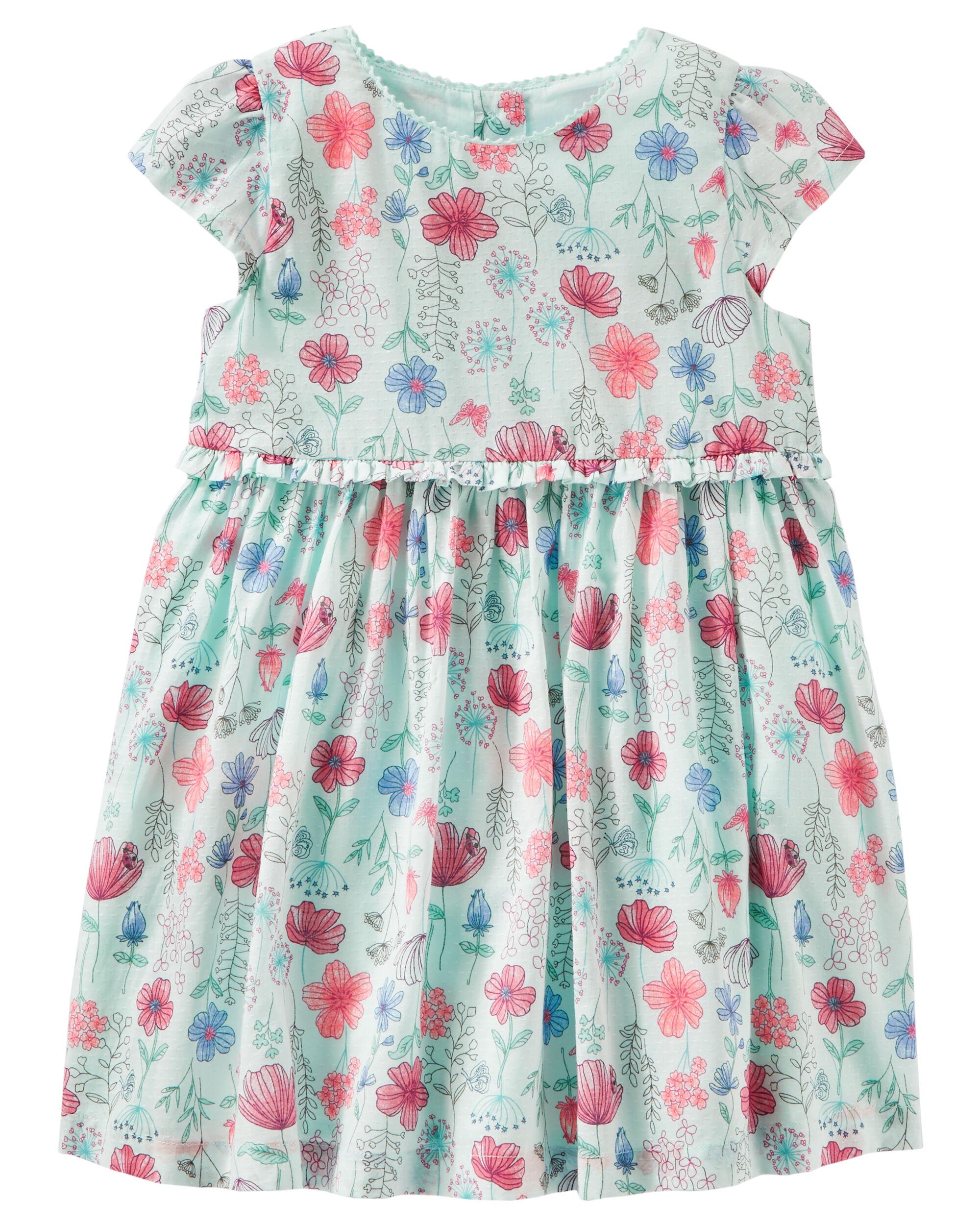 037f834b9 Floral Print Dress