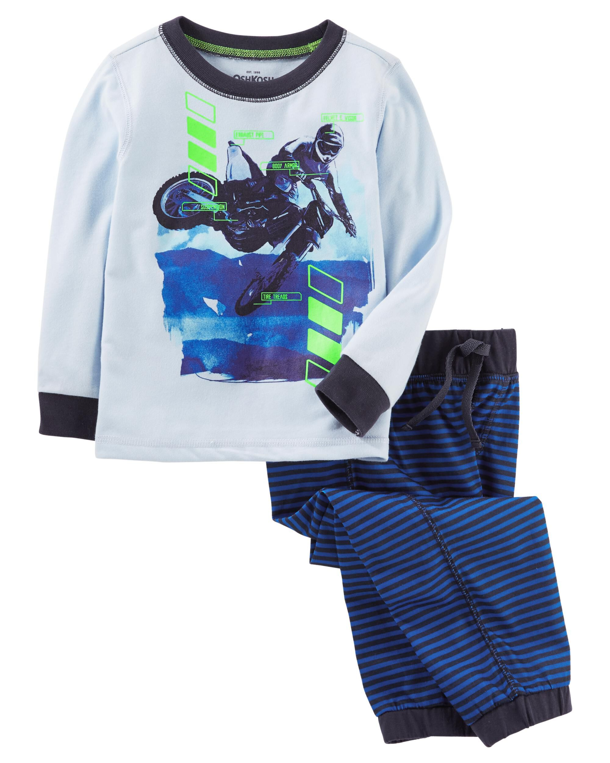 2 Piece Motocross PJs