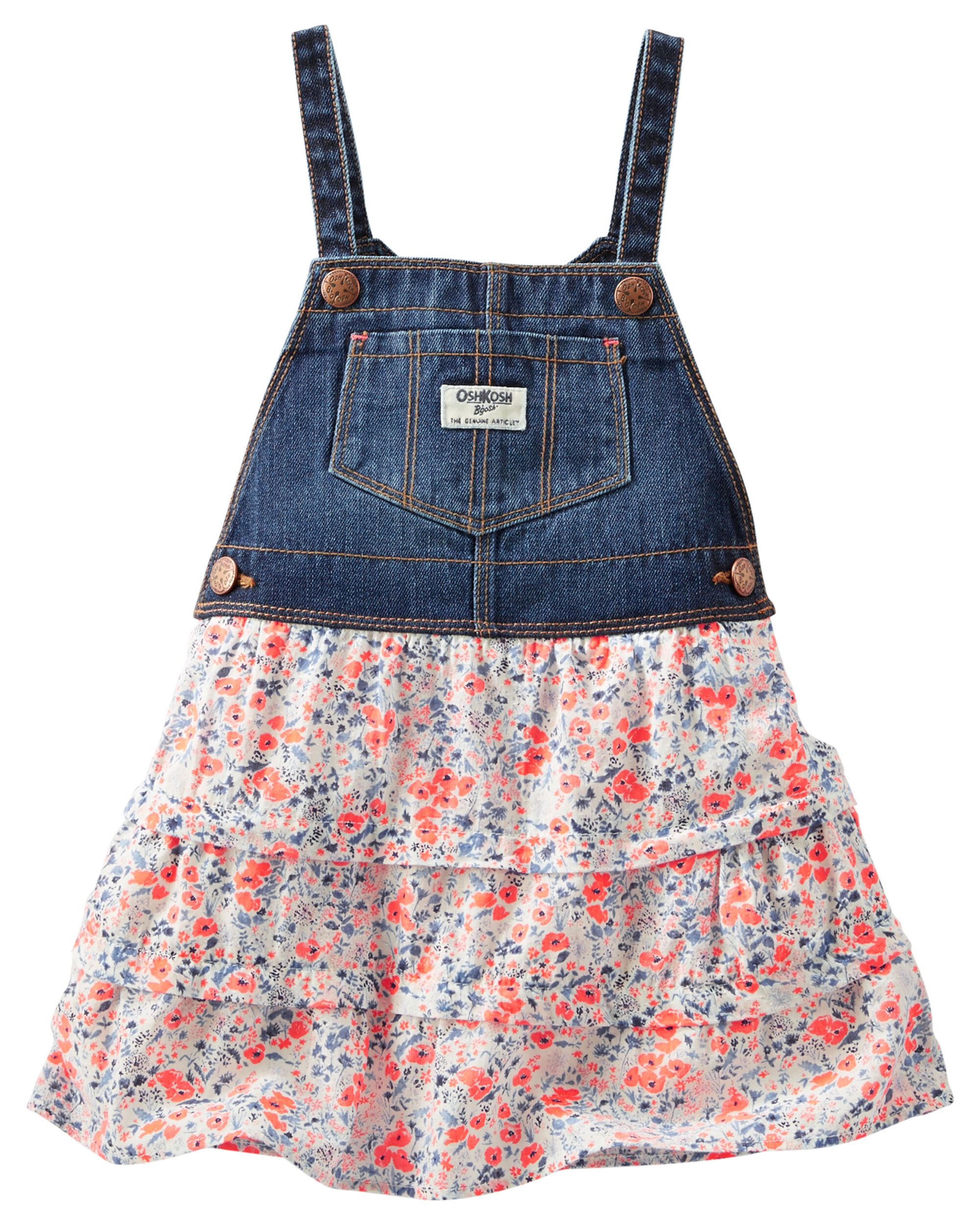 Floral Tiered Jumper Carters 5 In 1 Loading Zoom