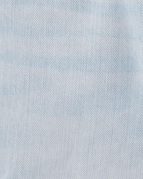 Denim Shortalls - Pastel Wash