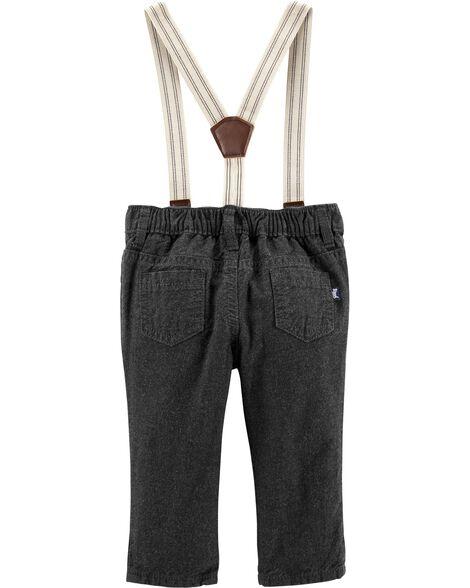 Suspender Pants