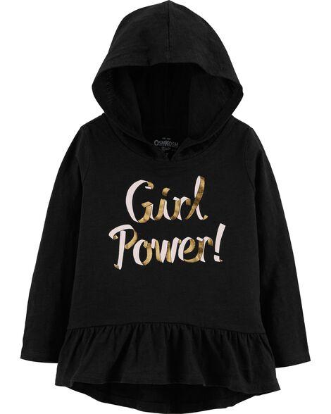 Girl Power Hooded Tunic