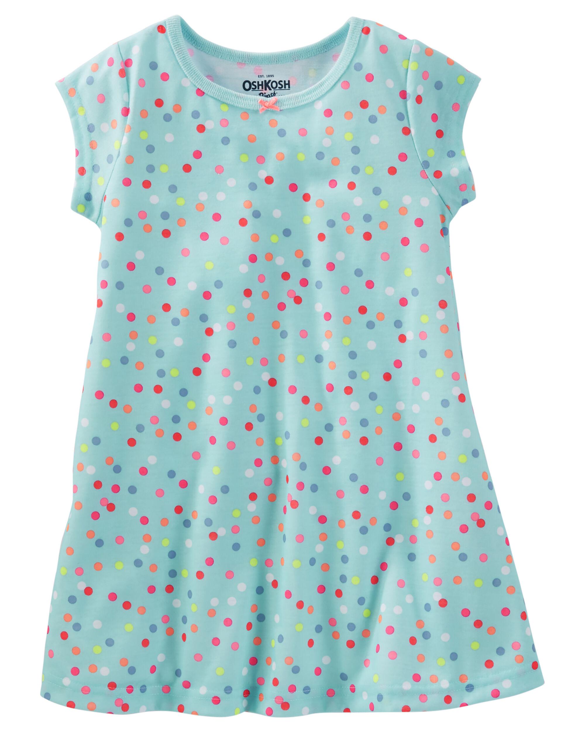 Jersey Sleep Gown   OshKosh.com