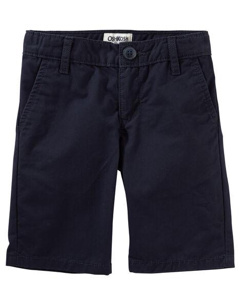 Classic Fit Uniform Shorts