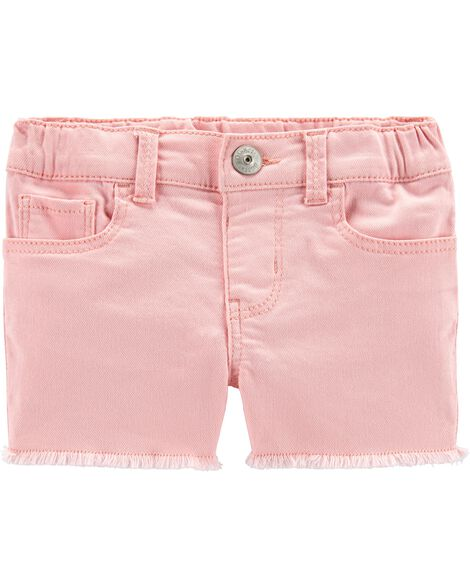 Pink Stretch Shorts