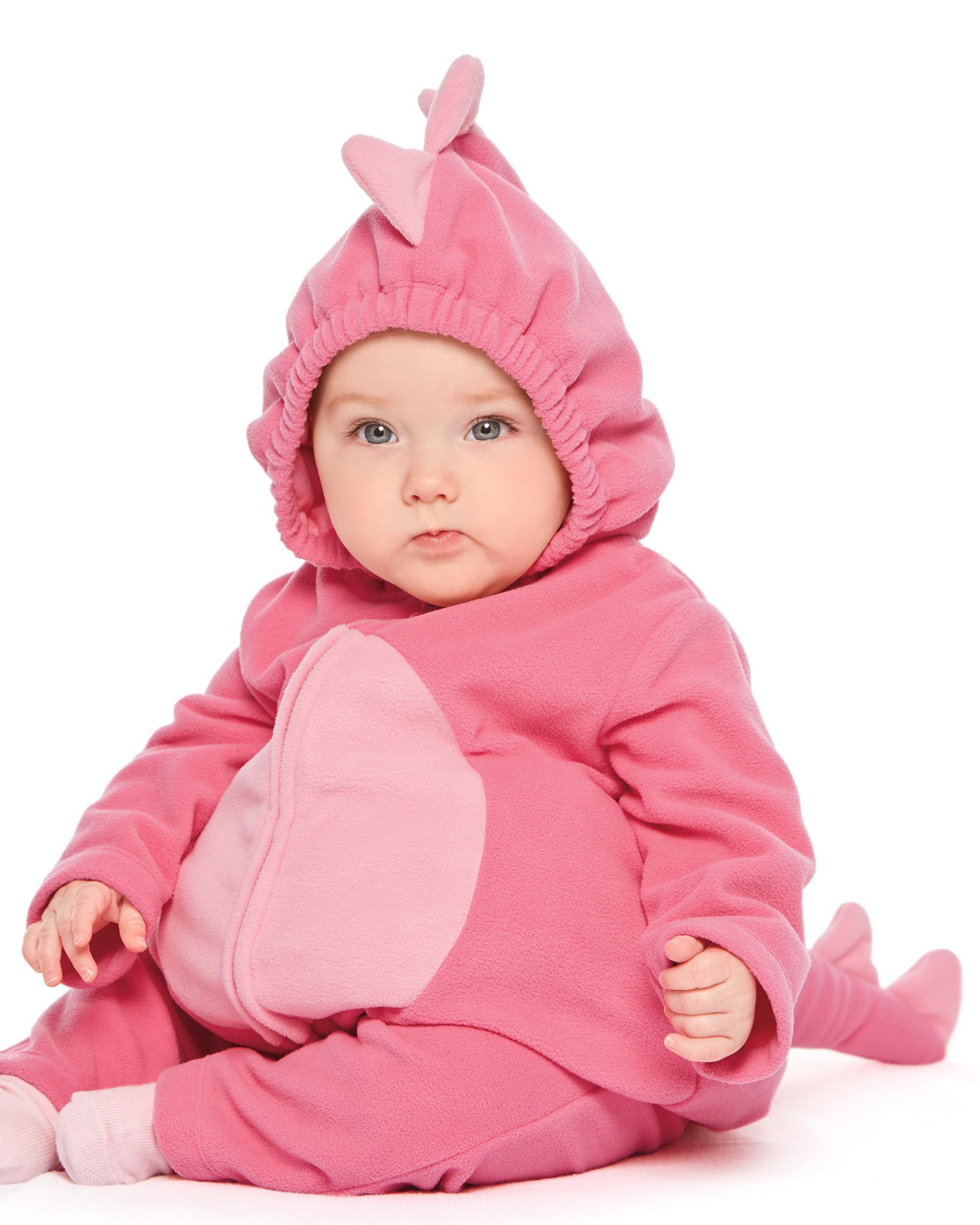 Little Dinosaur Halloween Costume ...  sc 1 st  OshKosh Bu0027gosh & Baby Girl Little Dinosaur Halloween Costume | Carters.com