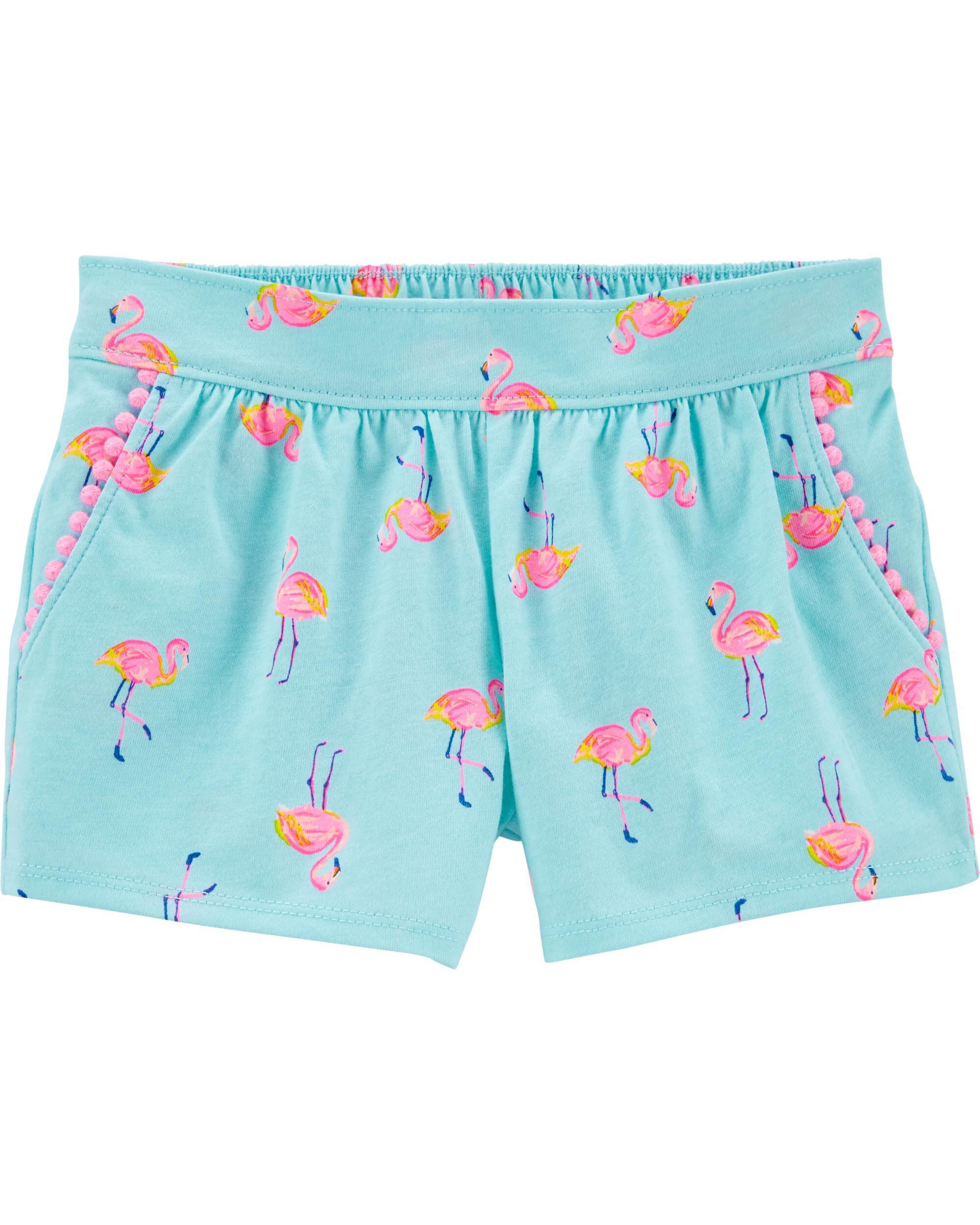 *DOORBUSTER*Flamingo Pom Pom Shorts