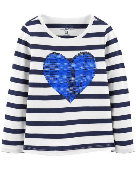 eea0180993ca Heart Sequin Tee