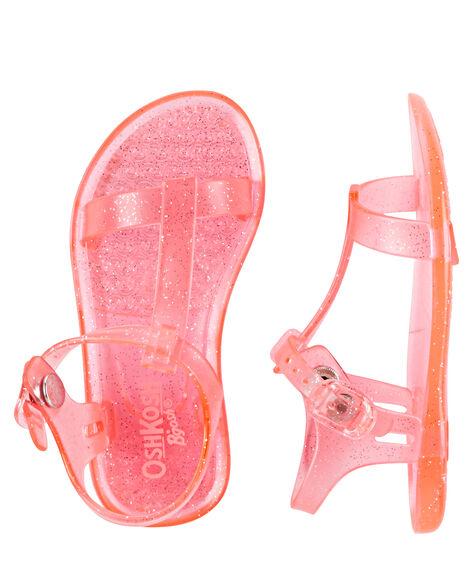 8b559a049f0f Images. OshKosh Sparkle Jelly Sandals