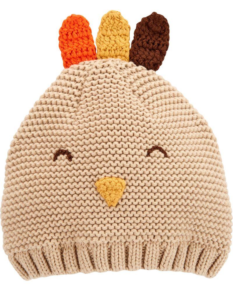 Thanksgiving Newborn Infant Turkey Knit Cap Turkey Knit Cap Baby Knit Cap