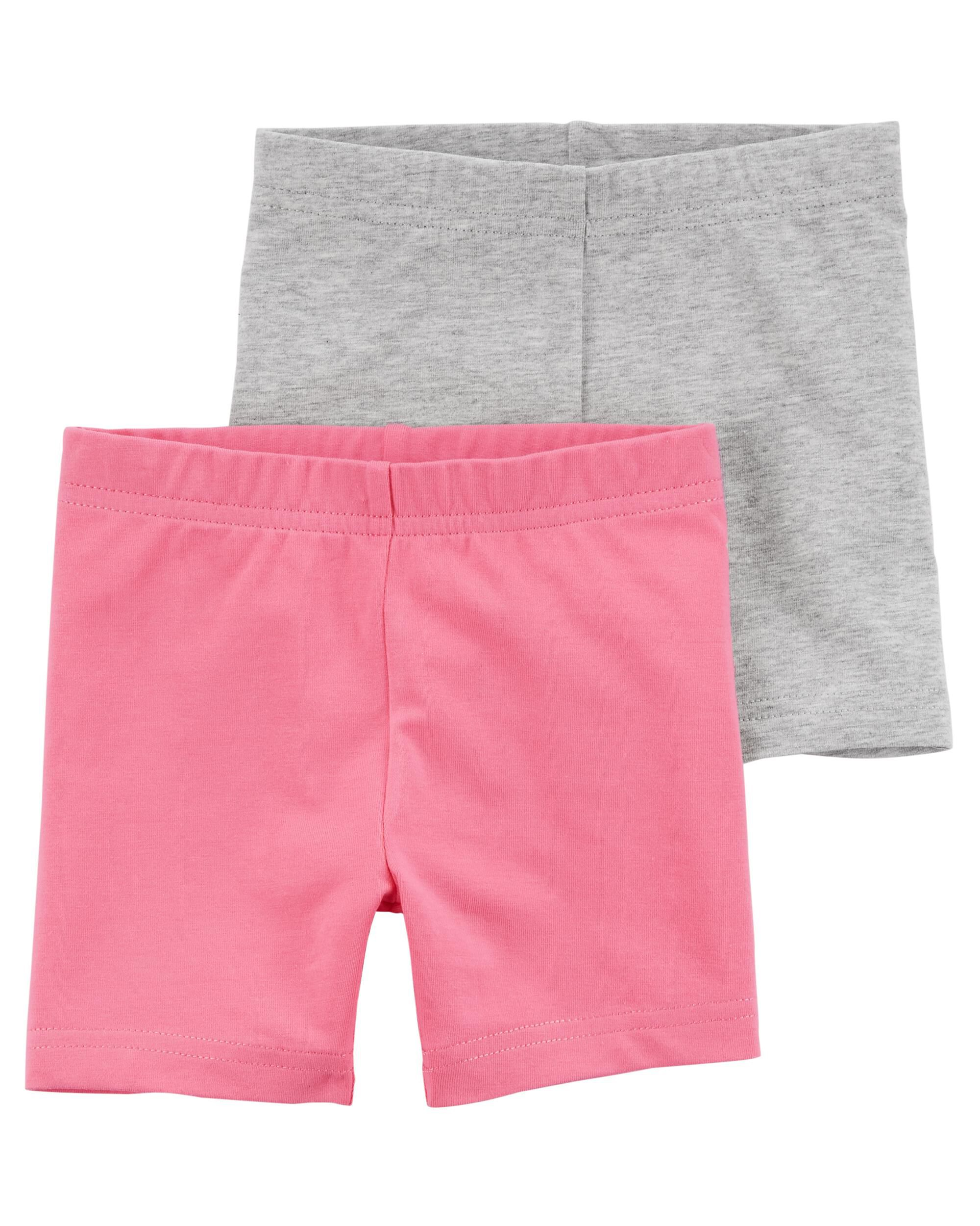 Carters Baby Girls 2-Pack Tumbling Shorts