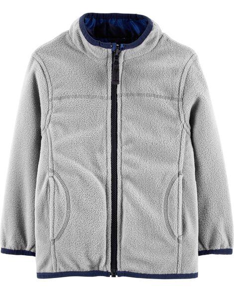 4eaecd8456e1 Fur Trim 4-in-1 Jacket