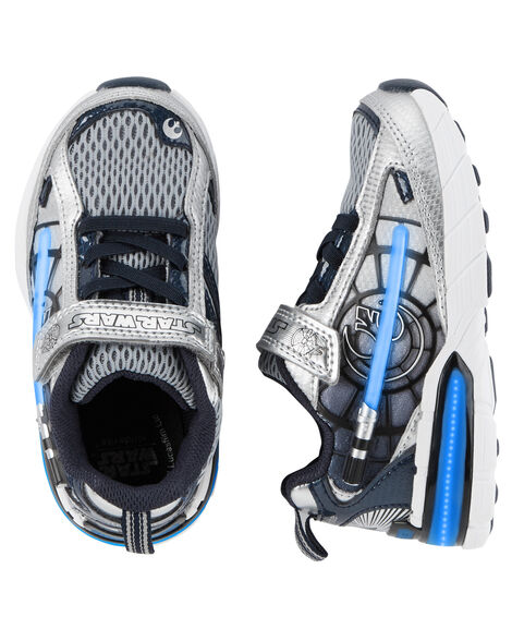 c51b5f02cdc2a6 Kid Boy Stride Rite Star Wars Hyperdrive Heroes Lightsaber Sneaker ...