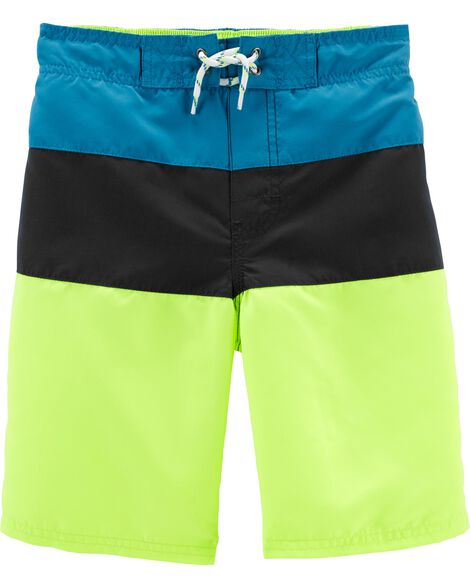 OshKosh Colorblock Swim Trunks