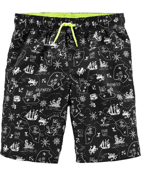 OshKosh Pirate Swim Trunks