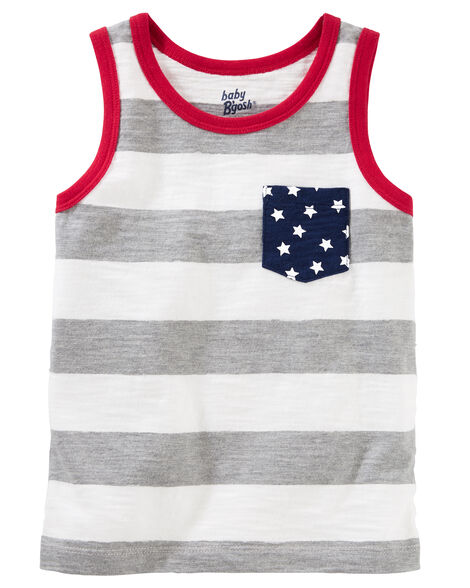 b1cdd84913e Stars   Stripes Pocket Tank