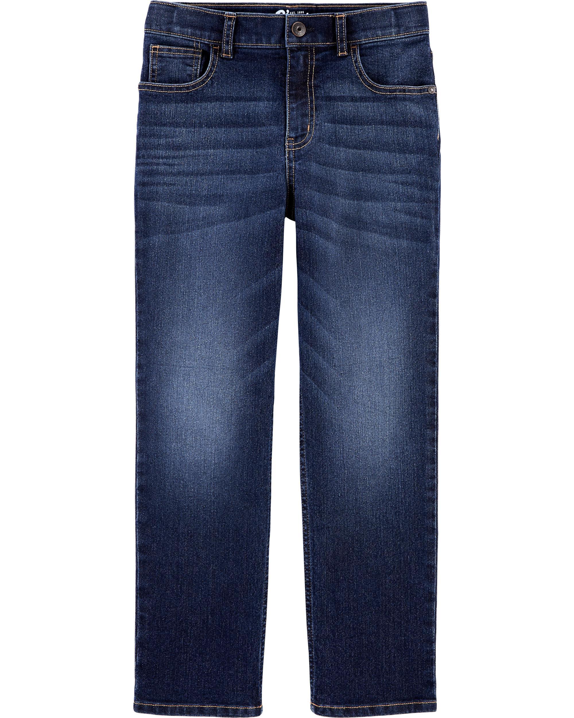*DOORBUSTER*Husky Fit Classic Jeans - Rail Tie True Blue Wash