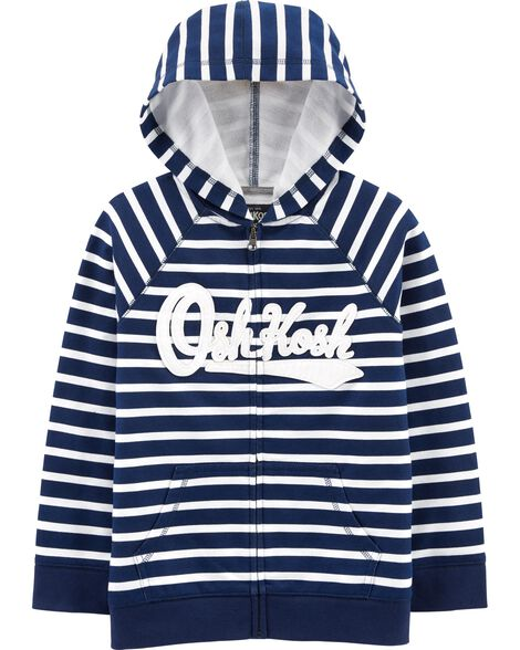 French Terry Logo Hoodie