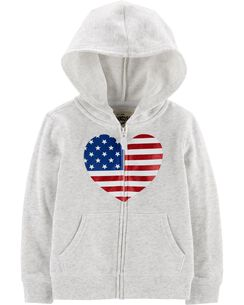 e0bbe68d4 Baby Girl Sweaters & Hoodies | OshKosh | Free Shipping