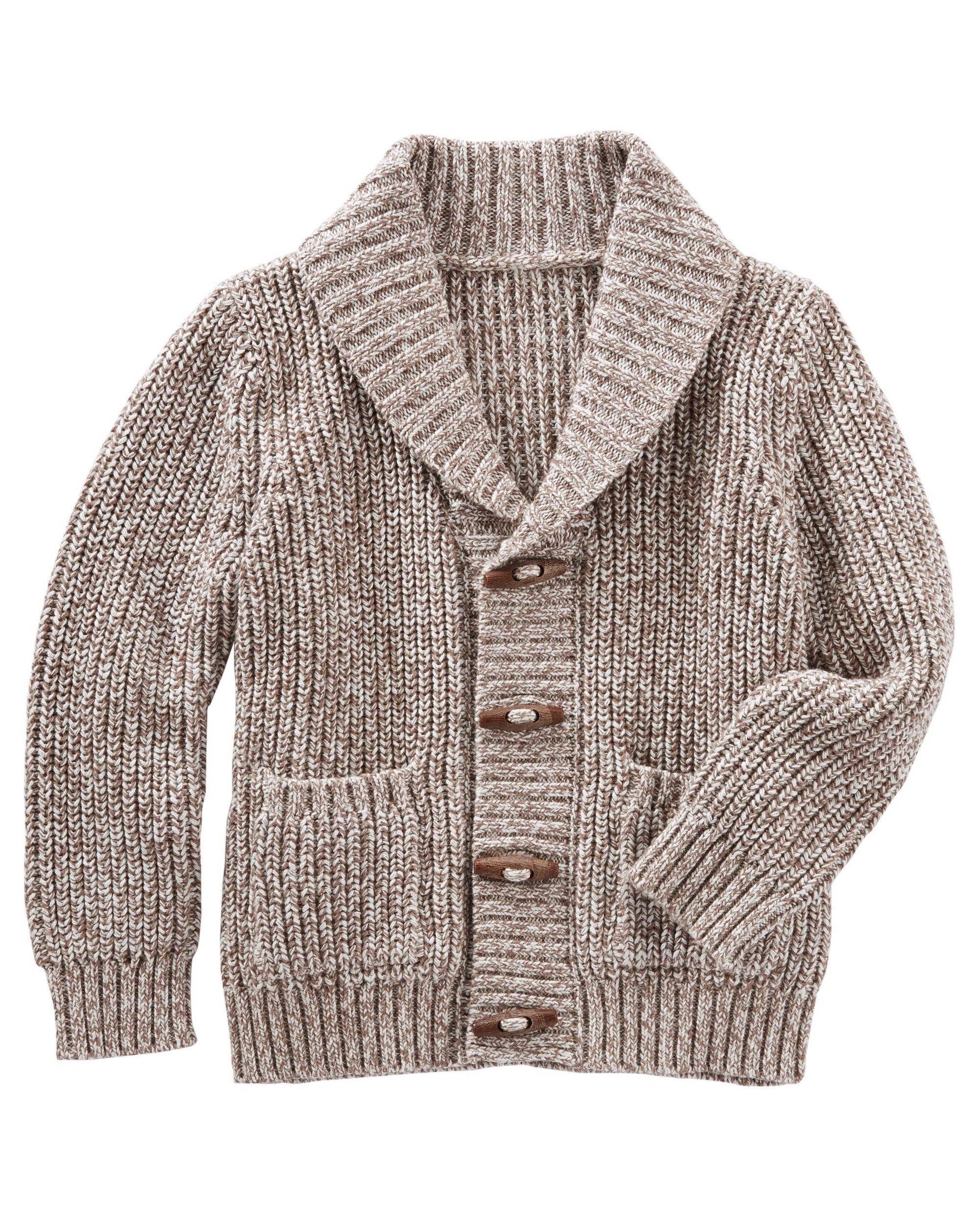 Shawl Collar Cardigan | OshKosh.com