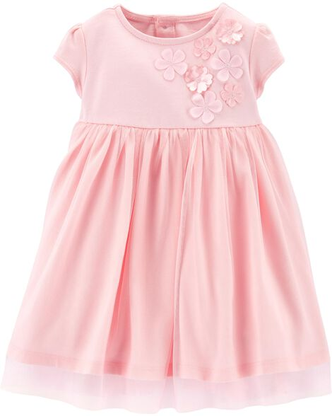 6034dc454 Baby Girl Floral Tulle Dress
