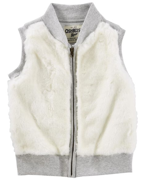 13fb67c5a Faux Fur Vest