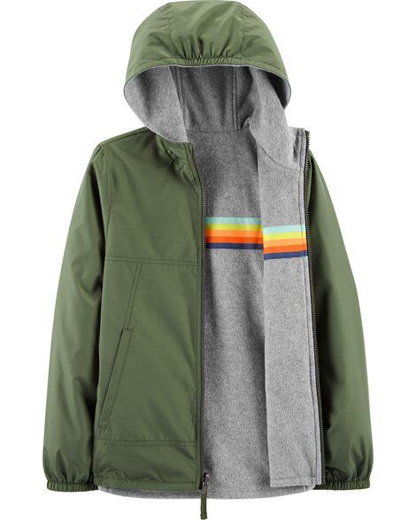 Striped Reversible Jacket