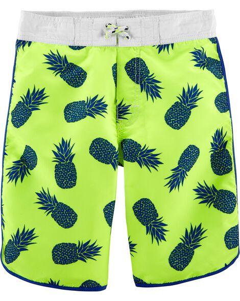 OshKosh Pineapple Swim Trunks