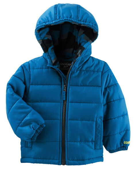 e4f44605e940 OshKosh Quilted Puffer Jacket