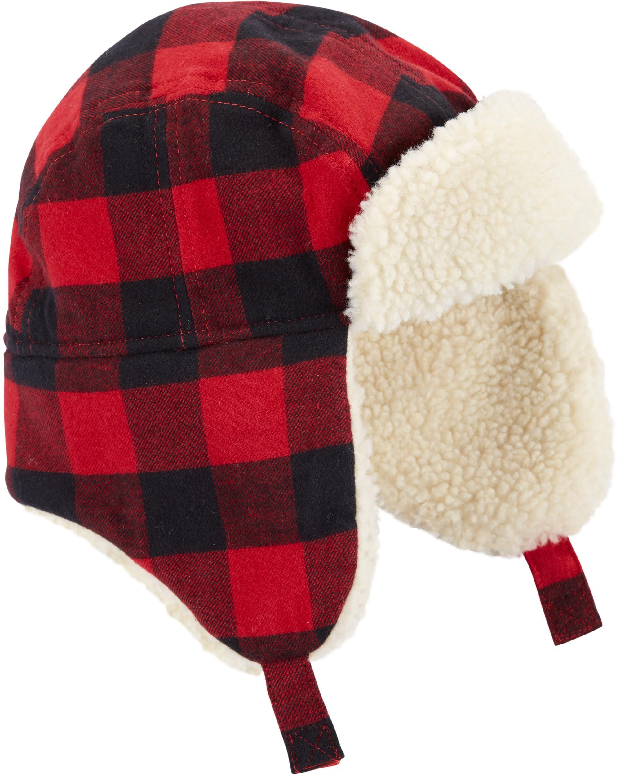 f55de2a53 Flannel Sherpa Trapper Hat