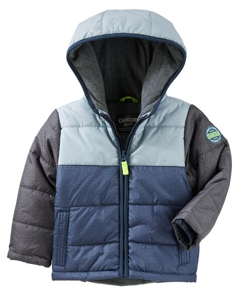 7c687403d Colorblock Heavyweight Bubble Jacket
