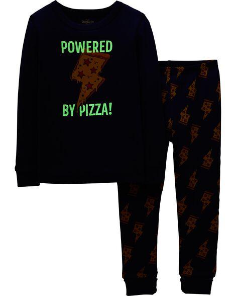 Snug Fit Pizza Cotton PJs
