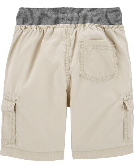 15a709f3a Pull-On Cargo Shorts | OshKosh.com