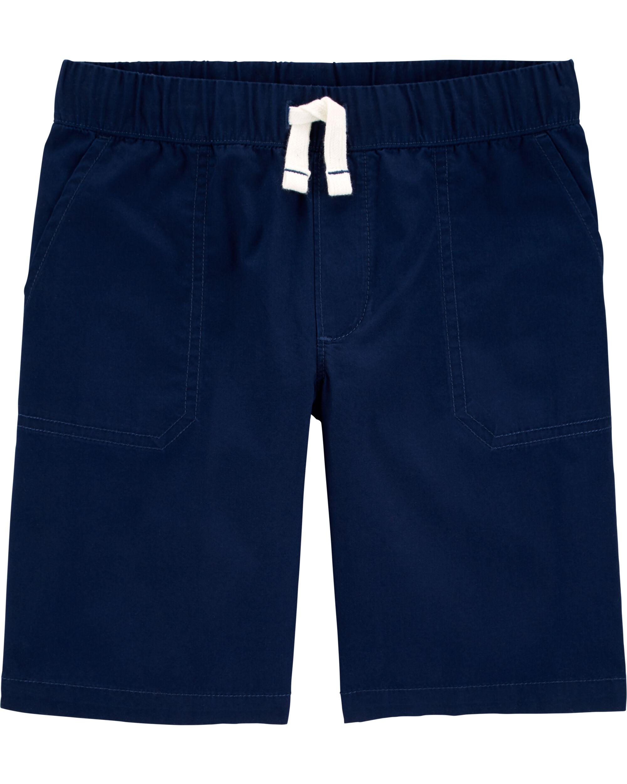 *DOORBUSTER*Pull-On Poplin Shorts