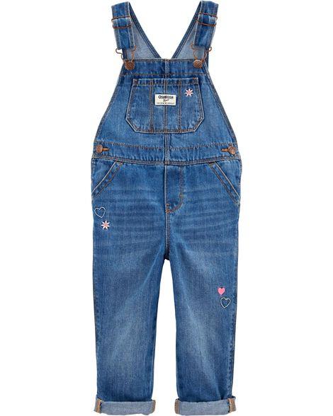 Denim Overalls - Upstate Blue Wash