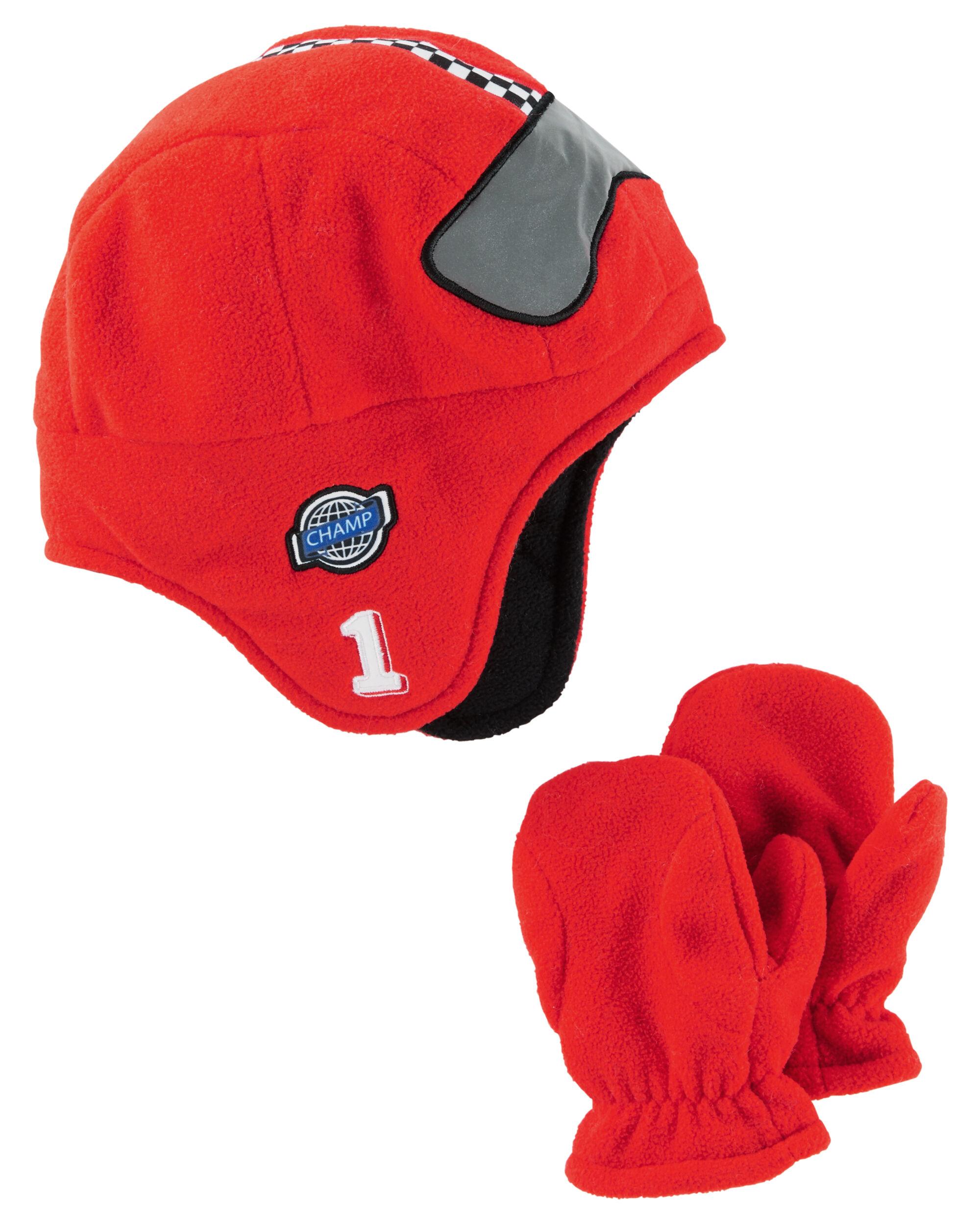 Trapper Hat & Mittens Set