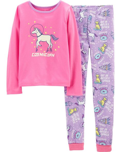 ebc890643c3c Images. 2-Piece Cosmic Unicorn PJs