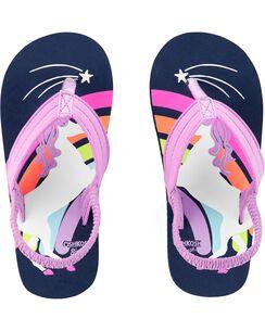 44701436e OshKosh Unicorn Flip Flops