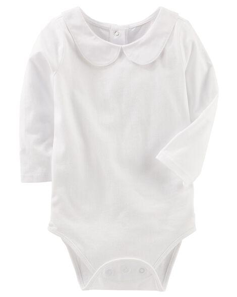 8a260db98e0d Peter Pan Collar Bodysuit