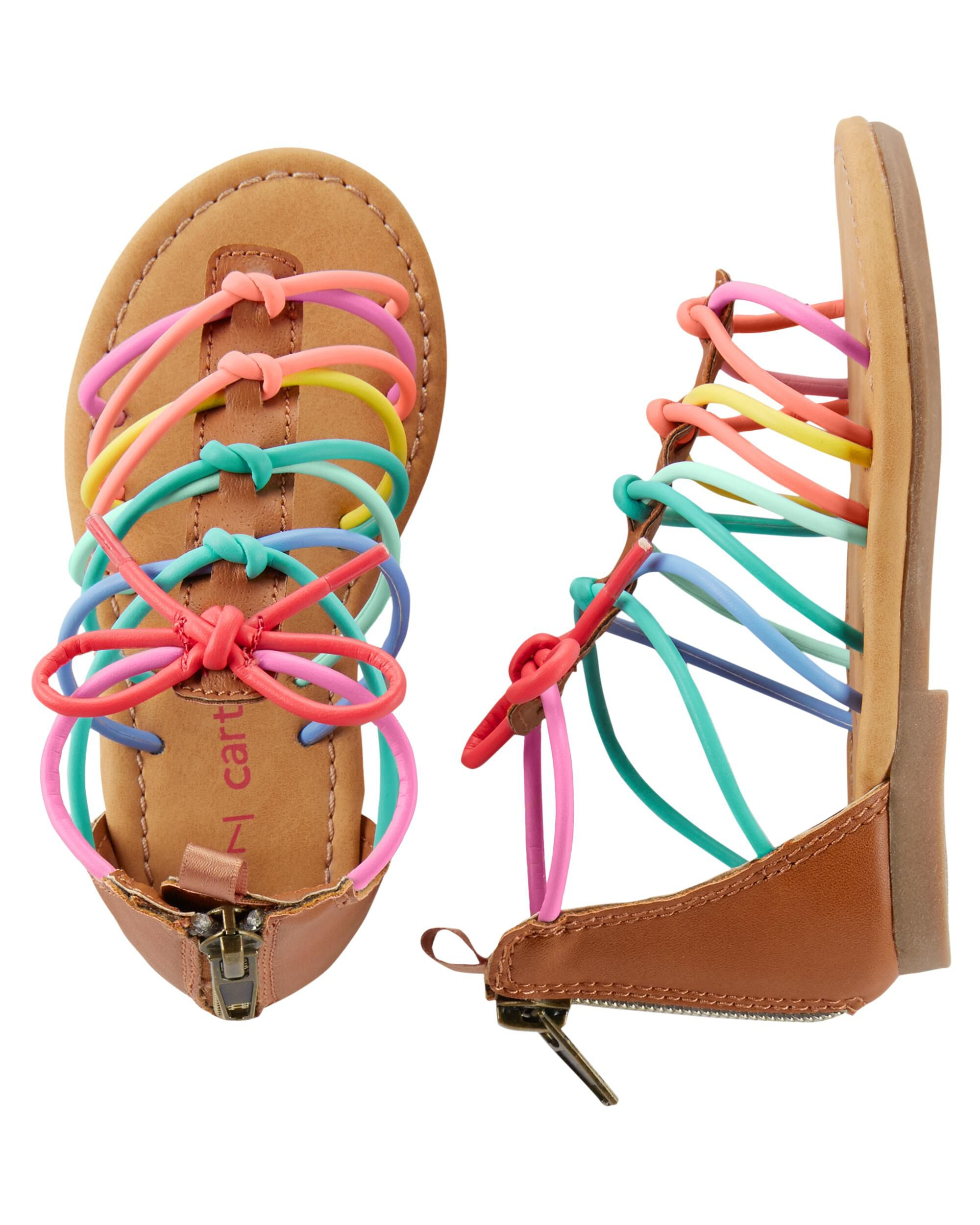 e0b03c62c7b Toddler Girl Carter s Gladiator Sandals