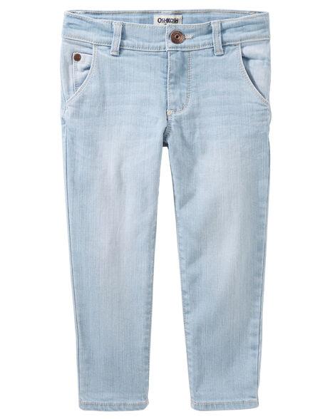 Girlfriend Fit Jeans - Sparkle Blue