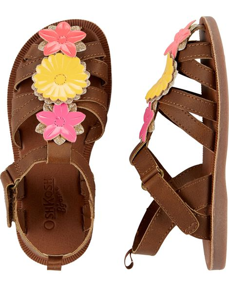 OshKosh Flower Sandals