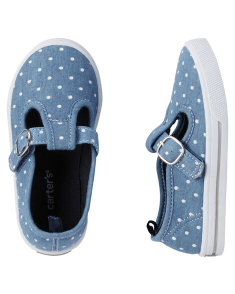 a38a9fb9a Toddler Girl Carter s Polka Dot Mary Jane Sneakers