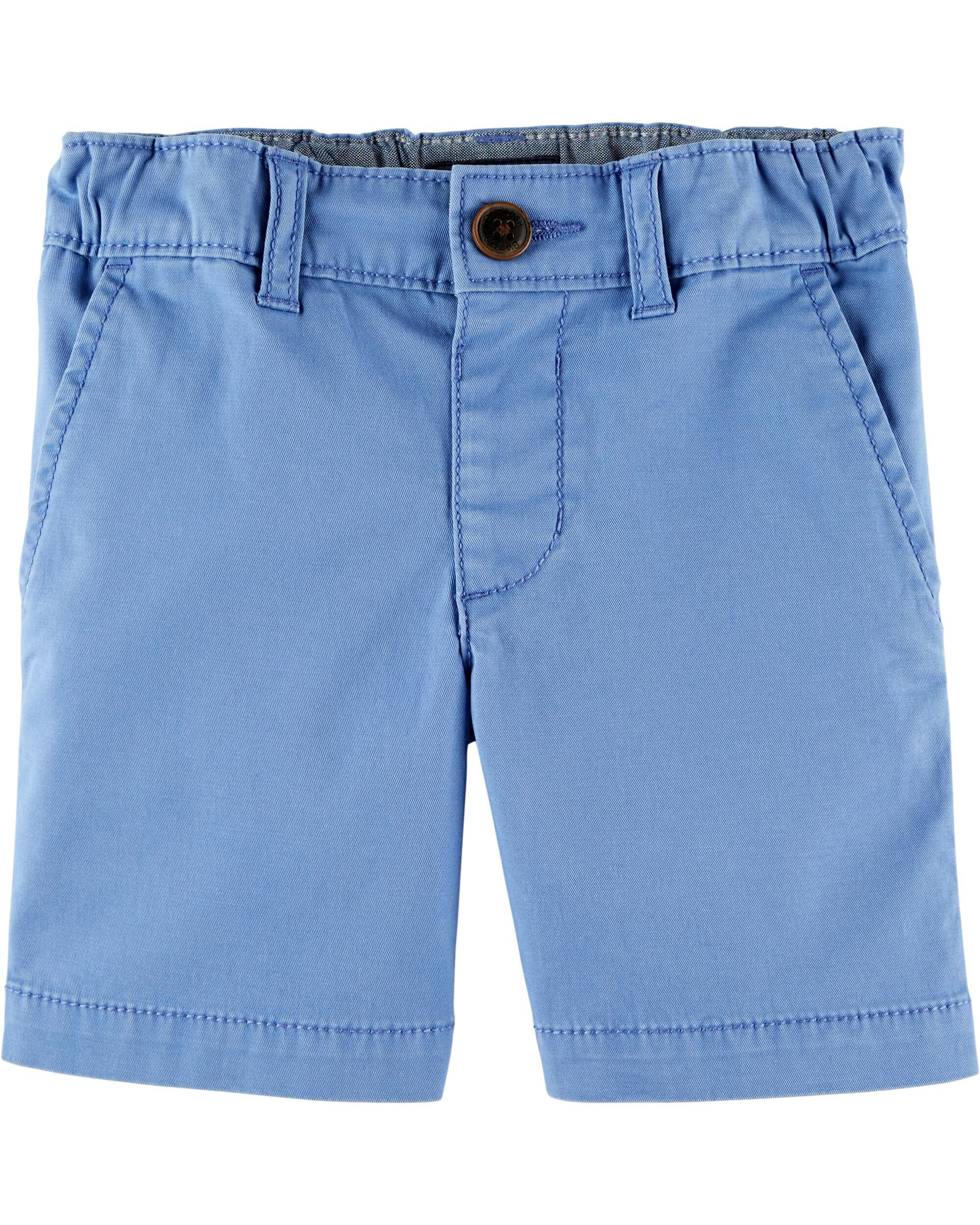 OshKosh BGosh Boys Little Stretch Flat Front Short