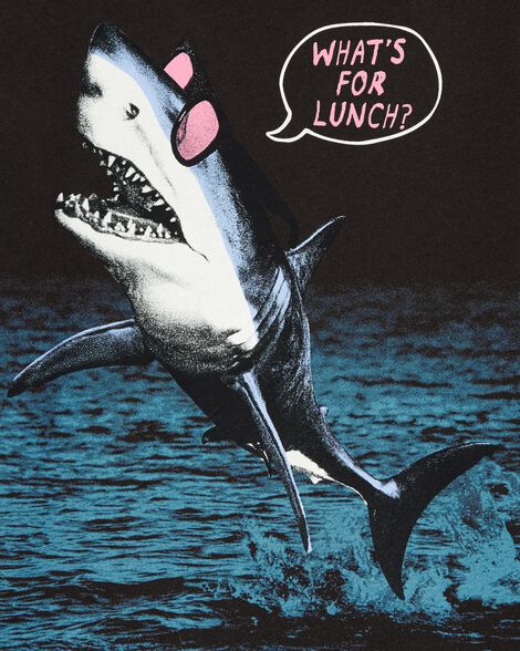 What's For Lunch Shark Tee