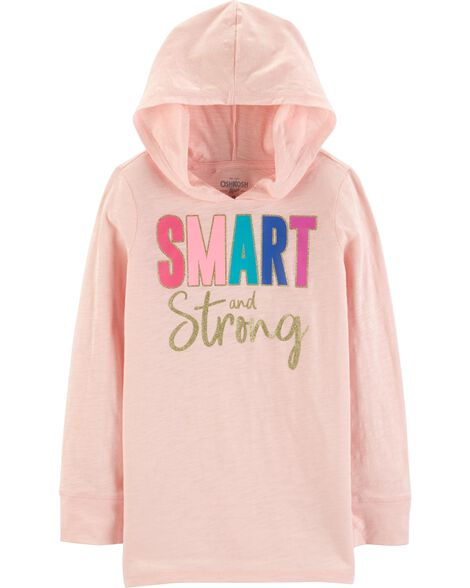 Smart & Strong Hooded Tunic