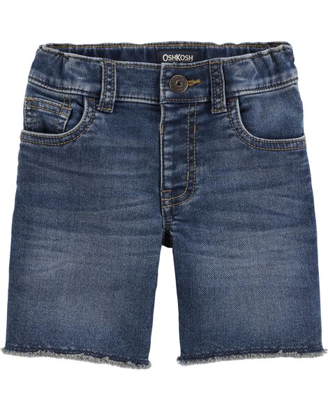 Raw Hem Shorts - Medium Vintage Wash