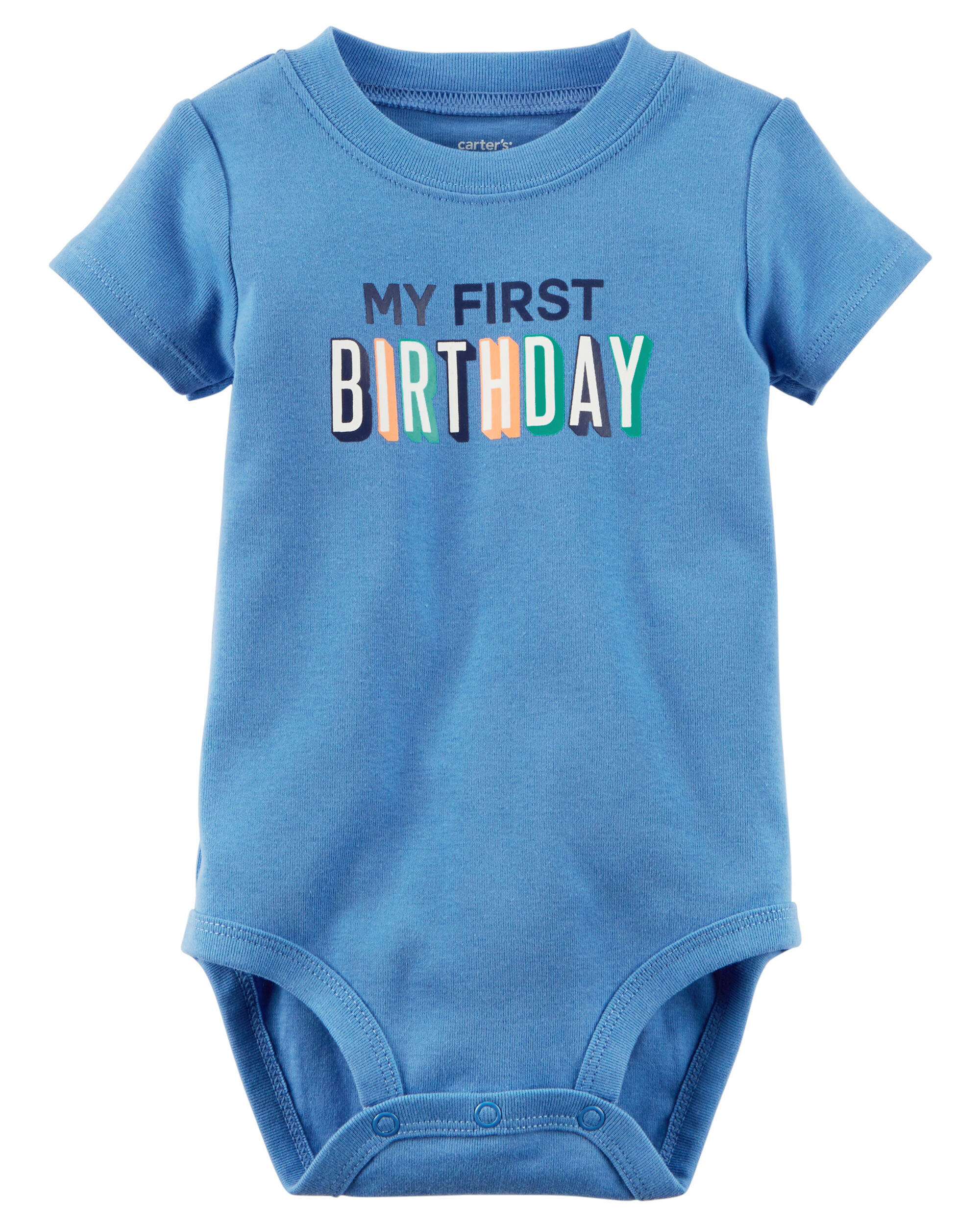 My First Birthday Shirt Boy