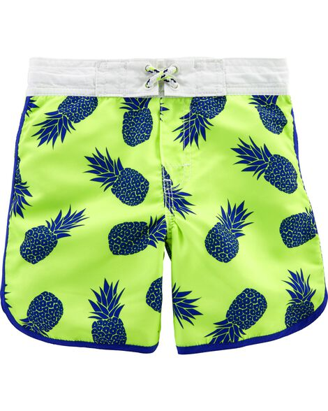 OshKosh Pineapple Swim Trunks