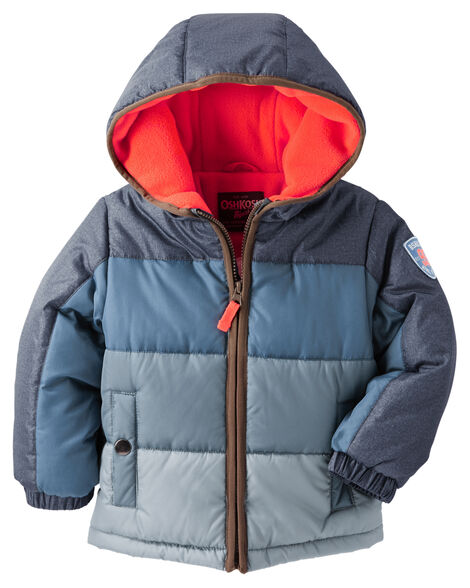 7b8562836 OshKosh Colorblock Heavyweight Jacket